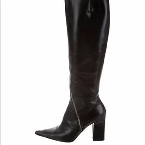 Michel Perry Italian leather boots
